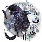 Full Moon Fever Dreams Of Velvet Ravens  by BunnyThePainter