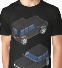 Isometric Transportation. Offroad Car. Isometric Car. Graphic T-Shirt