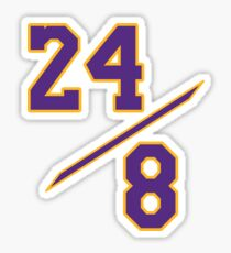Kobe 24 / 8 Alt Sticker