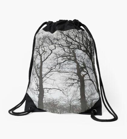 Hoge bomen ~ High trees Drawstring Bag