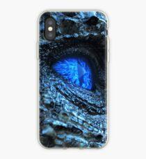 Vinilo o funda para iPhone El ojo azul de Viserion