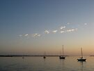 Boats on the Water by ValeriesGallery