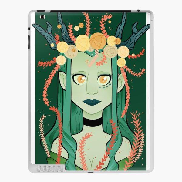green  witch  iPad Skin