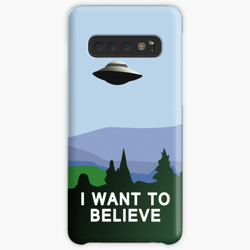 Quiero creer Funda y vinilo para Samsung Galaxy