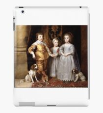 Anthony van Dyck - The Three Eldest Children of Charles I (1636) iPad Case/Skin