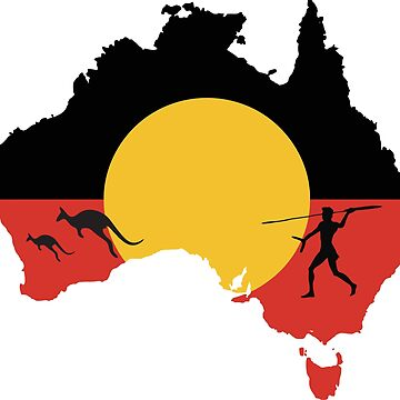 Australian Aboriginal Hunter - Kangaroo by Taz-Clothing