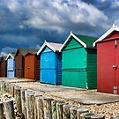 Beach Huts Series 23 by Amanda White