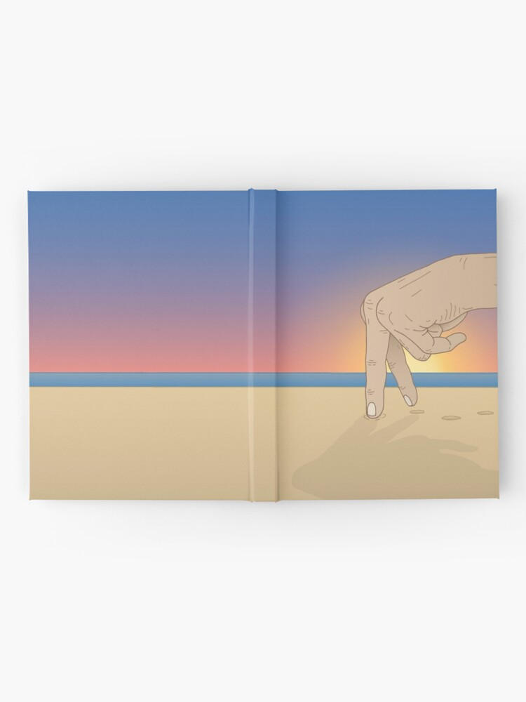 Alternate view of Walk on the Beach Hardcover Journal