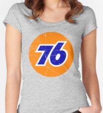 76 Gasoline Women's Fitted Scoop T-Shirt