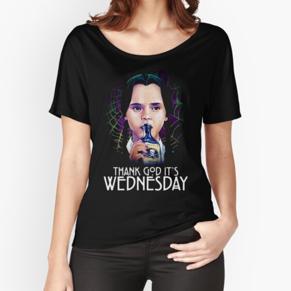 Thank god it's Wednesday! Relaxed Fit T-Shirt