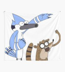 Mordecai and Rigby Wall Tapestry