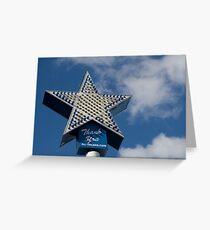 Coney Island Astroland Greeting Card