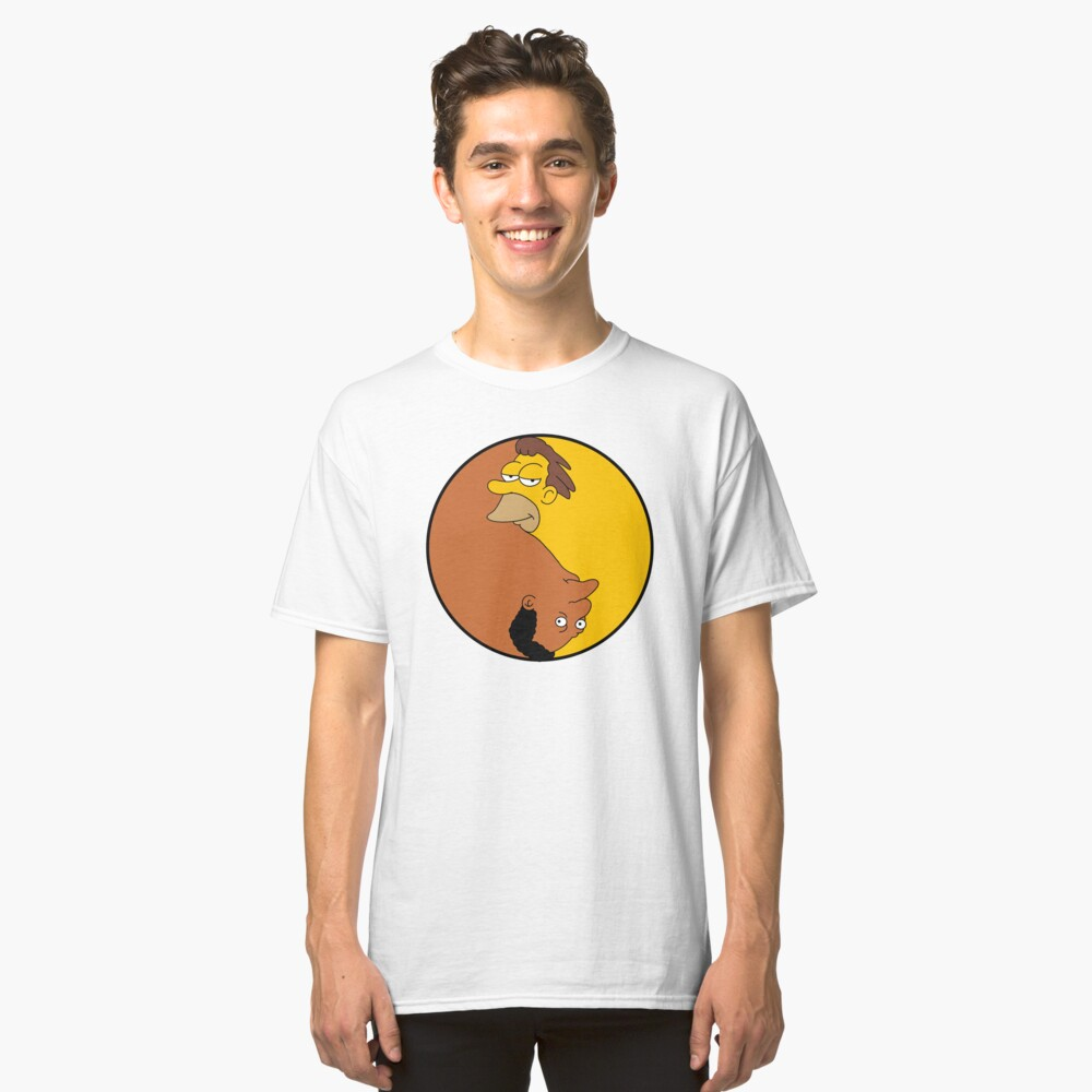 Duality - Lenny & Carl Classic T-Shirt Front