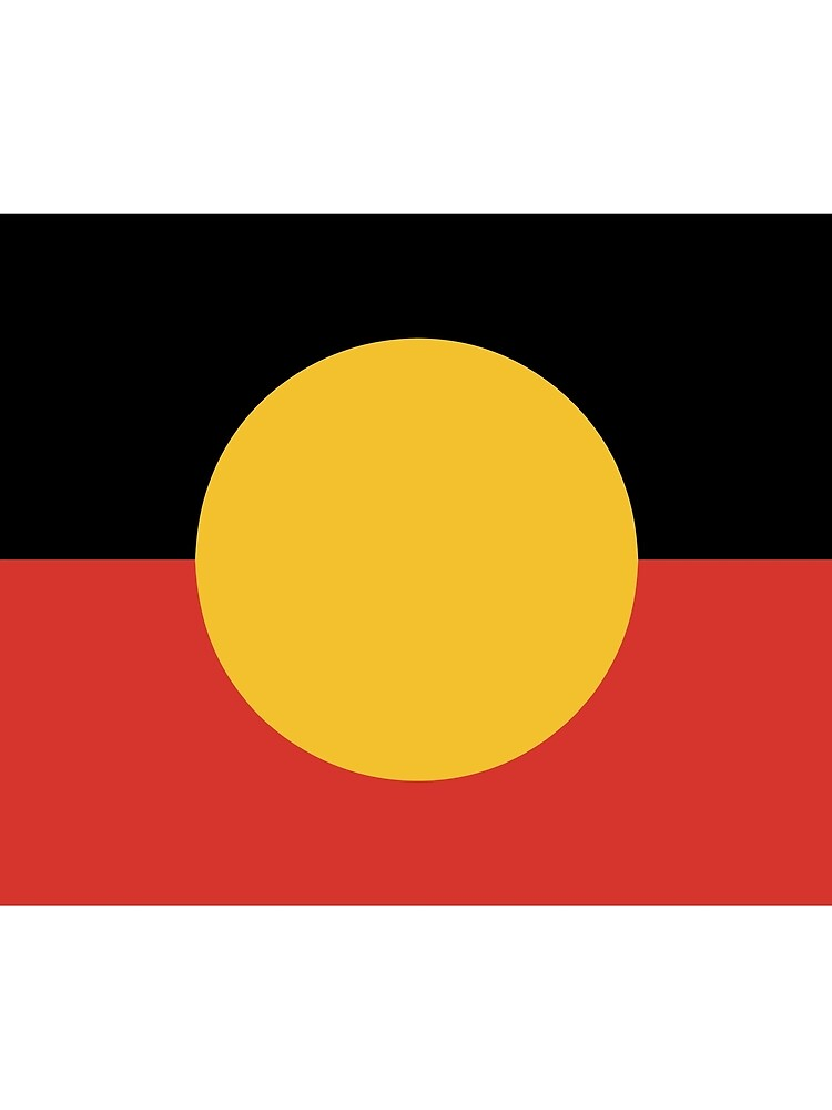 Australian Aboriginal Flag by Taz-Clothing