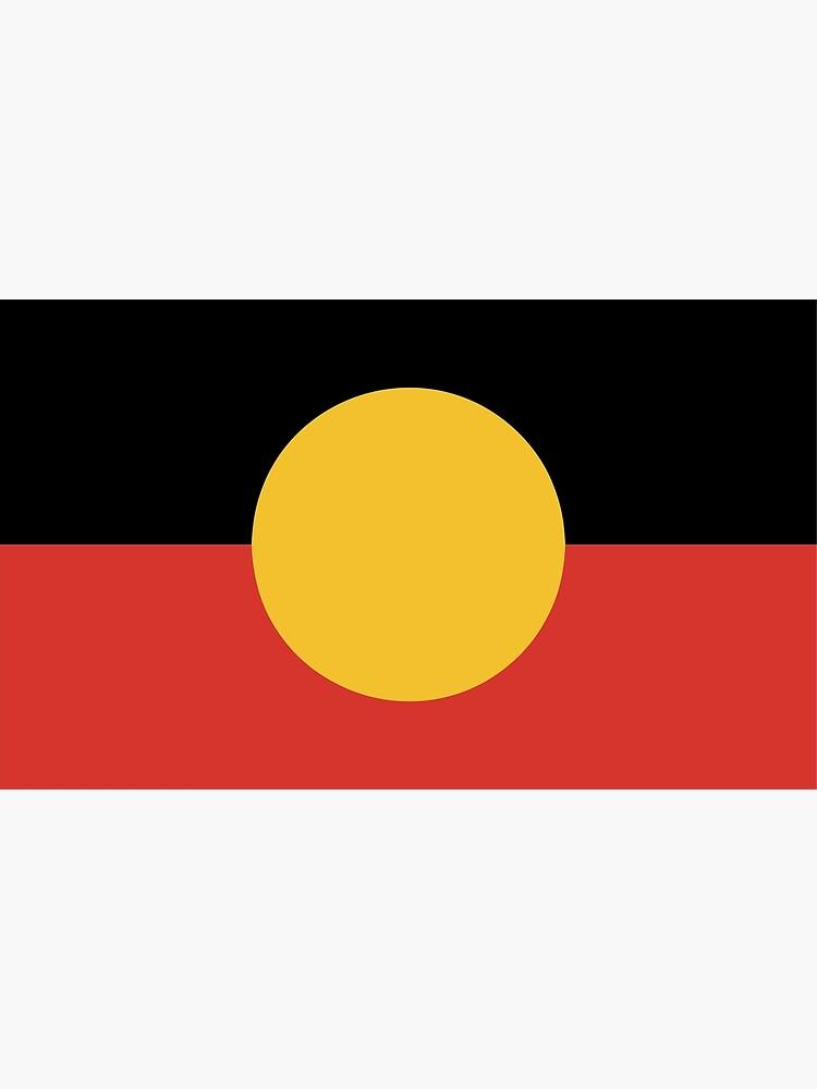 Australian Aboriginal Flag by Taz-Clothing