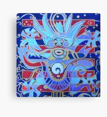 The Heavenly Dragon of Creativity Canvas Print