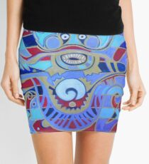 The Heavenly Dragon of Creativity Mini Skirt