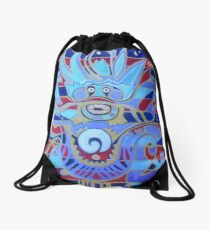 The Heavenly Dragon of Creativity Drawstring Bag