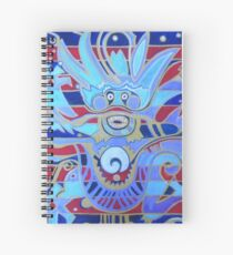 The Heavenly Dragon of Creativity Spiral Notebook