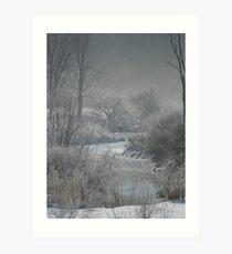 Freezing Fog Art Print