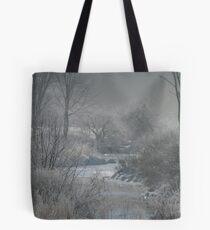 Freezing Fog Tote Bag