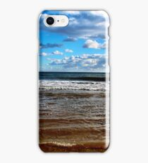 Blue Sky Beach iPhone Case/Skin