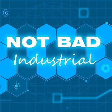Not Ban Industrial tech blue phone case by aaronwatkins21