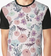 Flowers Cute Pattern Graphic T-Shirt