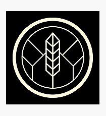 Leaf Crest Photographic Print