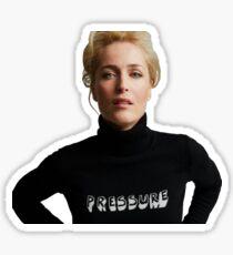 Gillian Anderson - Pressure Sticker