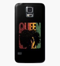 Funda/vinilo para Samsung Galaxy Mes de la Historia de Black Queen Black, Merch Retro Vintage