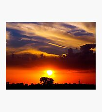 Coloured Sky Photographic Print