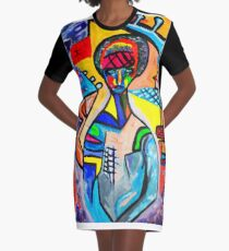 Festivals Graphic T-Shirt Dress