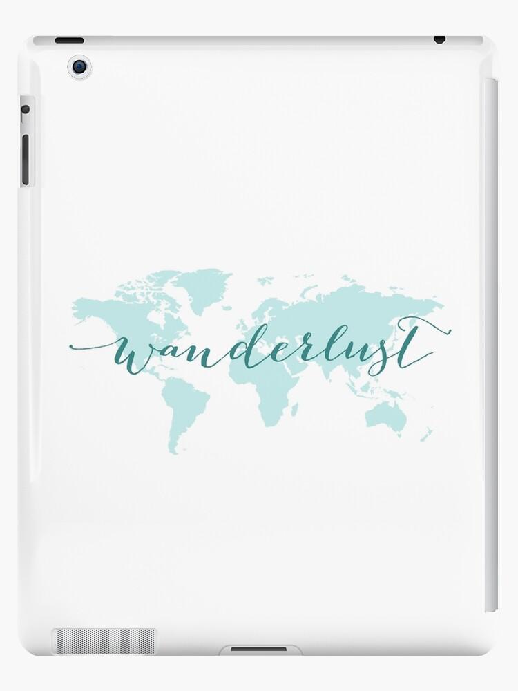 Fernweh, Lust zu reisen, Weltkarte von beakraus