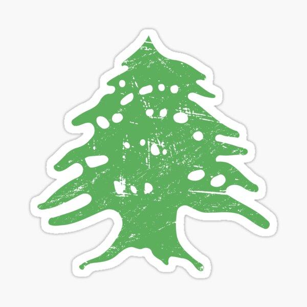 Flag Of Lebanon Cedar | Lebanese Graphic Sticker