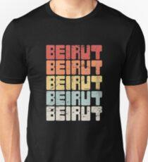 Vintage BEIRUT Libanon Text Unisex T-Shirt