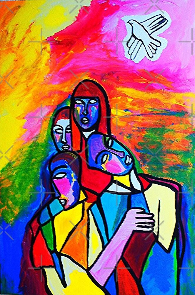 The White Dove by Ming  Myaskovsky