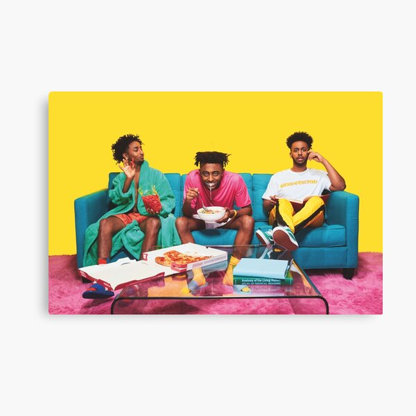 Amine couch Canvas Print