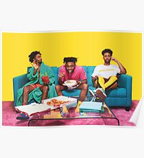 Amine couch Poster