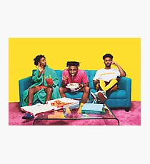 Amine couch Photographic Print