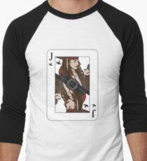 the Jack of Sparrow Men's Baseball ¾ T-Shirt