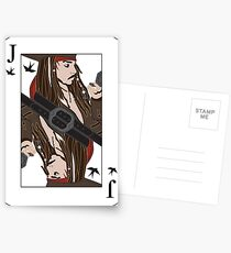 the Jack of Sparrow Postcards