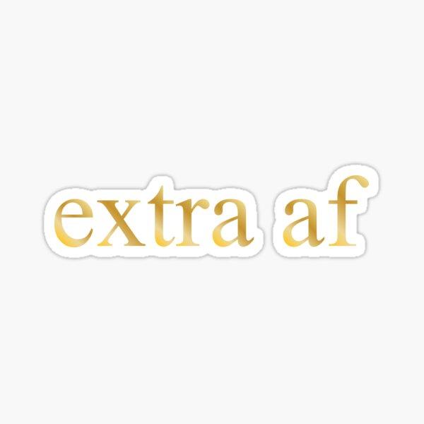 AF extra Pegatina