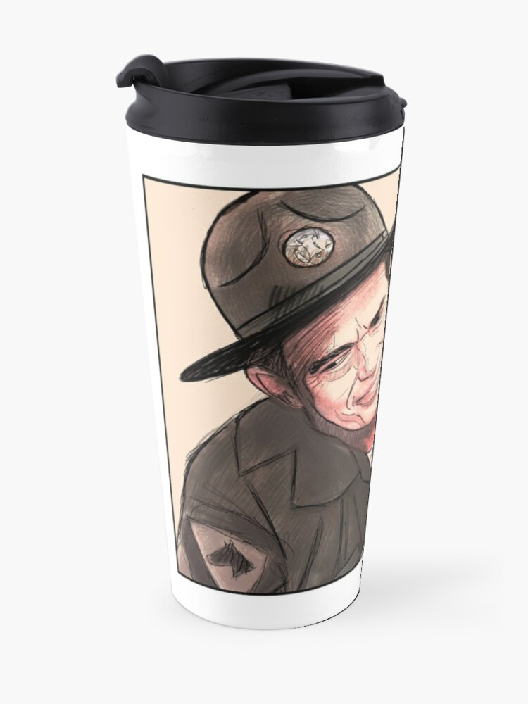 Alternate view of Lighten up, Francis. Travel Mug