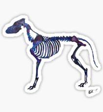 Galaxy Dog Sticker