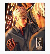 Taehyung Mirror DNA poster xxerru Photographic Print