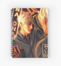 Taehyung Mirror DNA poster xxerru Spiral Notebook