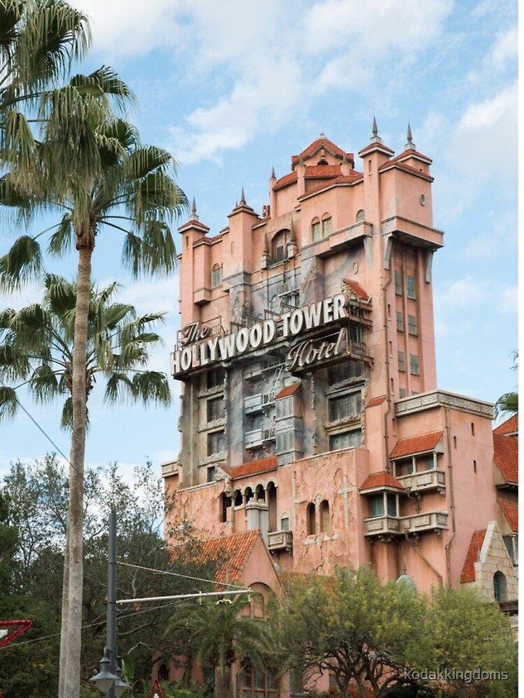 Hollywood Tower of Terror by kodakkingdoms