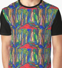 Abstract Forest Graphic T-Shirt
