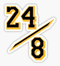 Kobe 24 / 8 Mamba Sticker